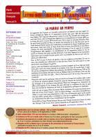 LRI - Septembre 2012 - La parole au peuple