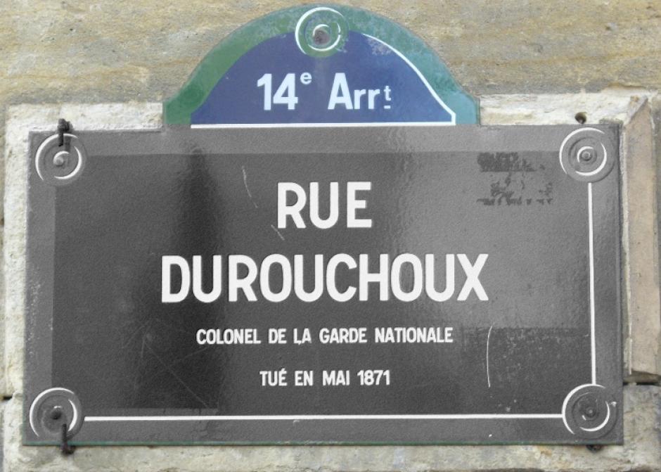 La rue Durouchoux enfin débaptisée !