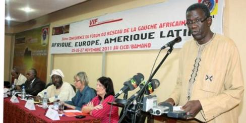 Novembre 2011 : 3ème conférence du réseau de la gauche africaine à Bamako