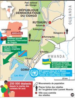 Nord-Kivu: quand les minerais priment sur les populations